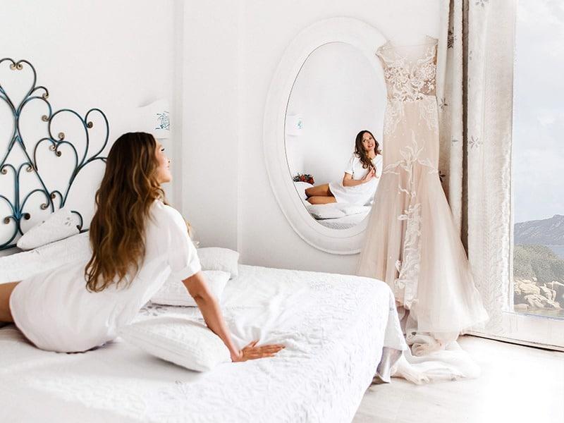 утро невесты на Сардинии, Коста Смеральда
