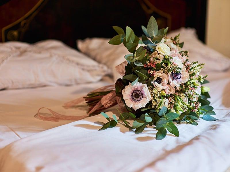 букет невесты на Сардинии