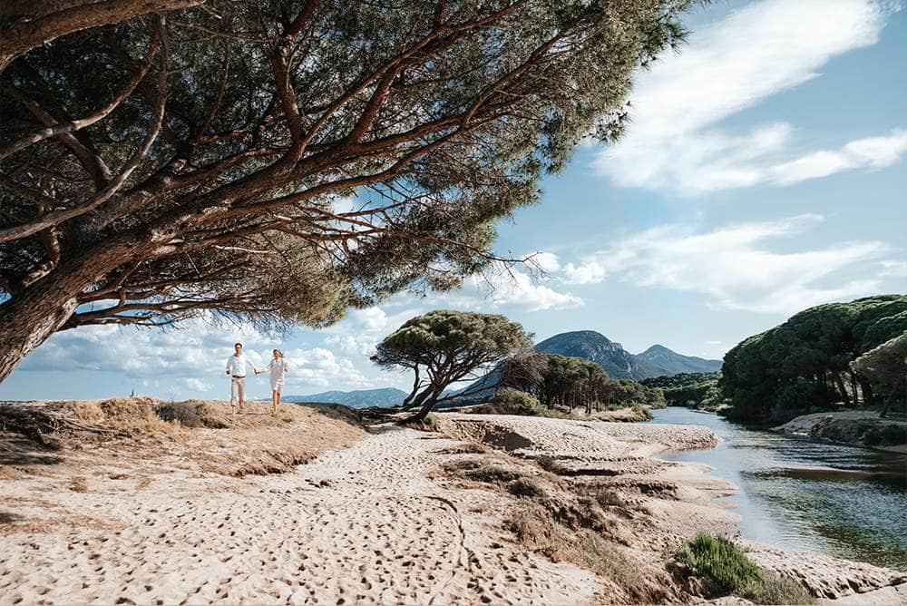 прогулка по самому красивому пляжу Италии