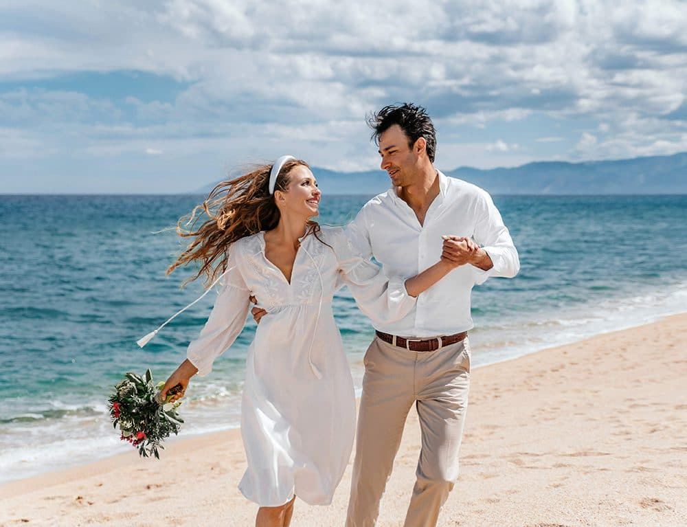 символическая свадьба для двоих на Сардинии