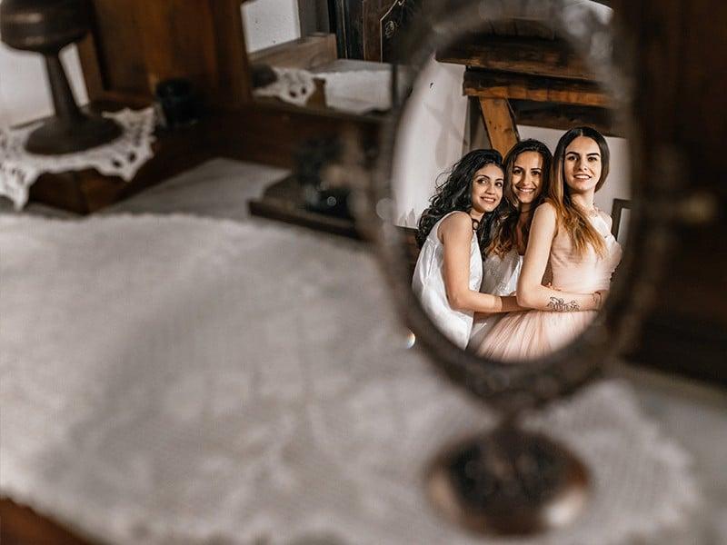 сборы невесты в этнографическом музее