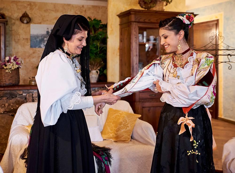 традиции национального женского костюма в Италии