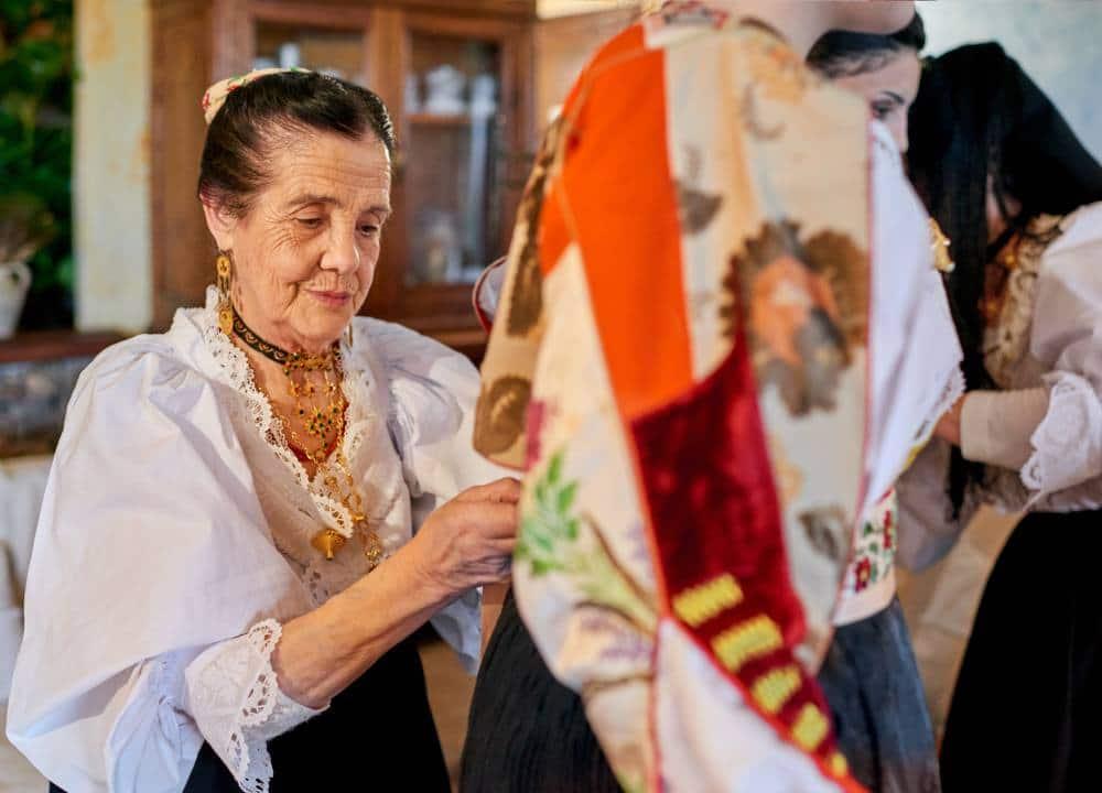 традиции национального костюма в Италии