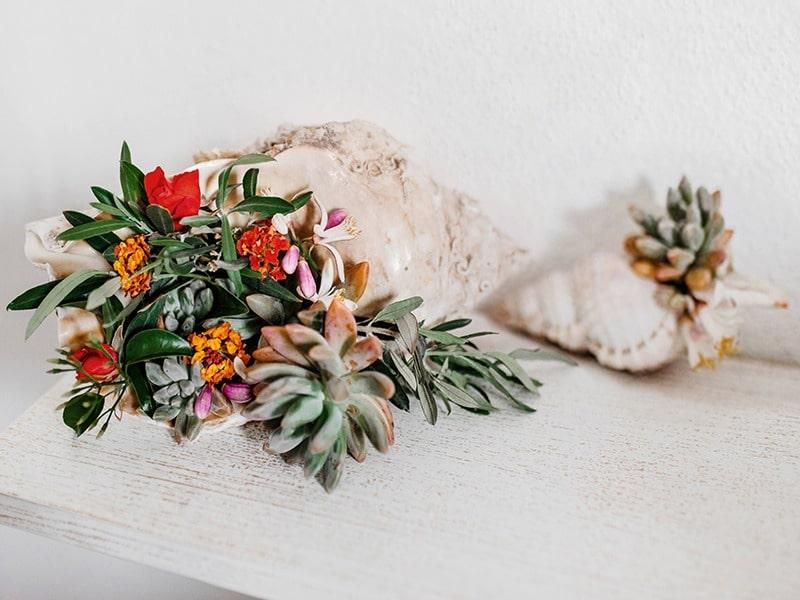 декор для свадьбы на Сардинии