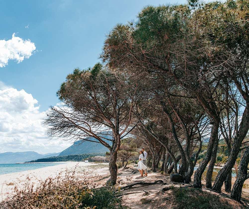 самый красивый пляж в Италии - на Сардинии