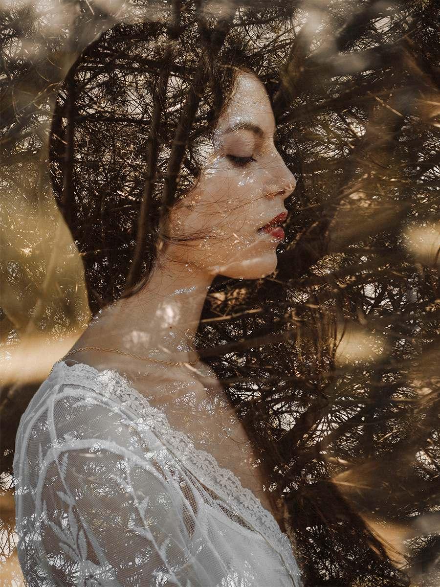 художественный фото портрет девушки
