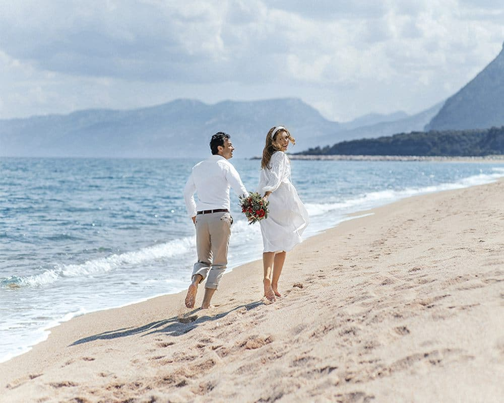 Свадьба для двоих и медовый месяц в Италии