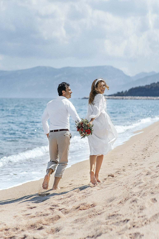 Фотоистория свадьбы для двоих на Сардинии