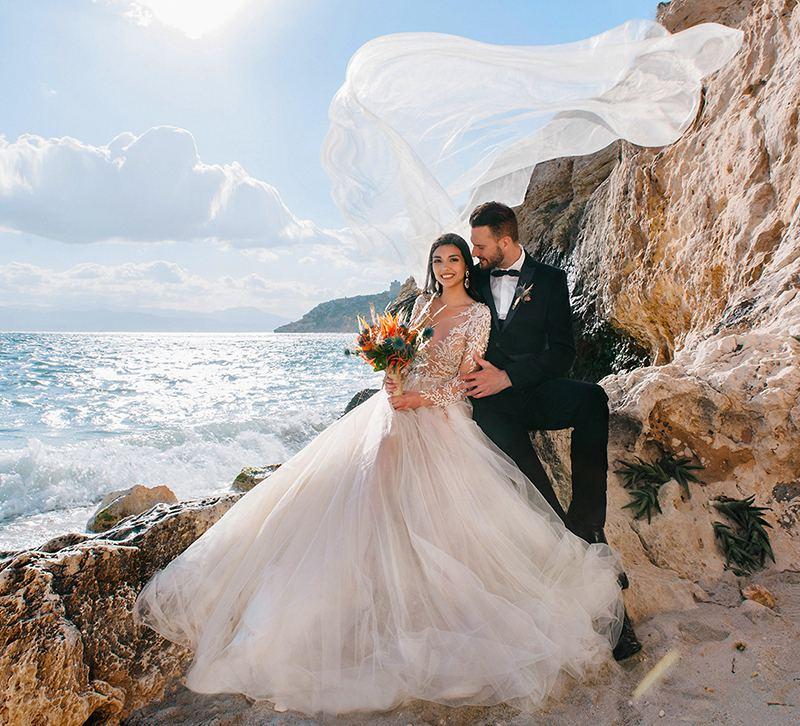 организация свадеб в Италии, на острове Сардиния