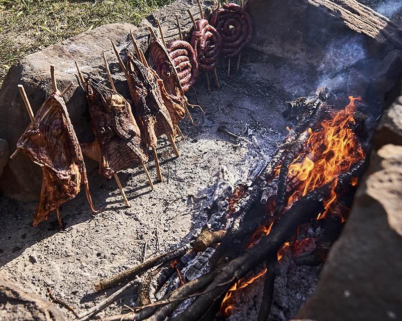 Национальное сардское блюдо - порчедду