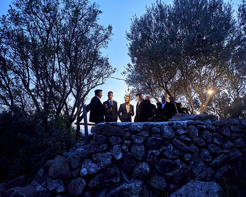 Мальчишник с пастухами в горах в Италии