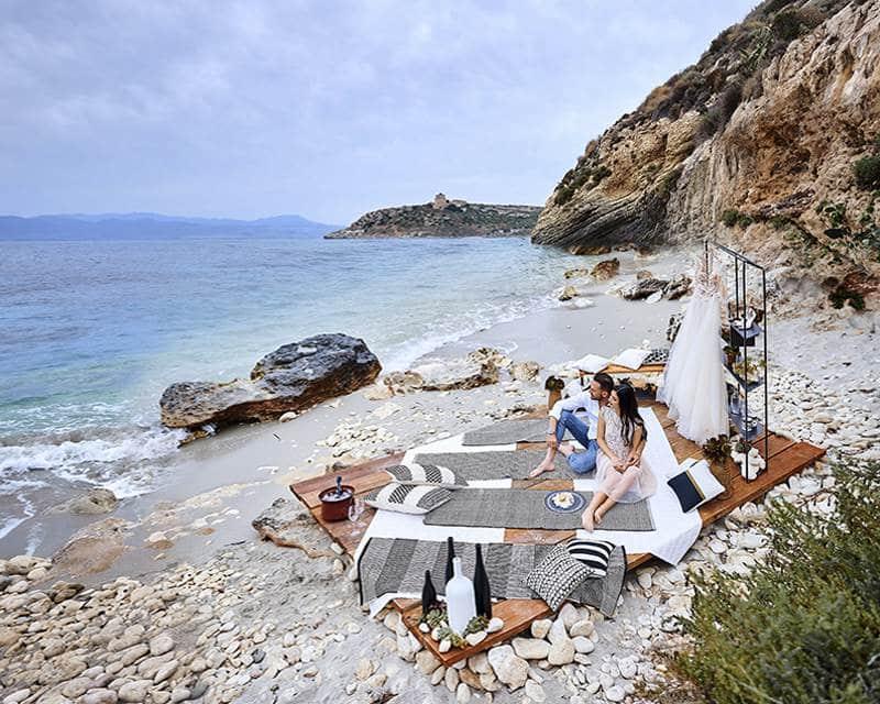 Организация мероприятий на самых красивых пляжах Сардинии