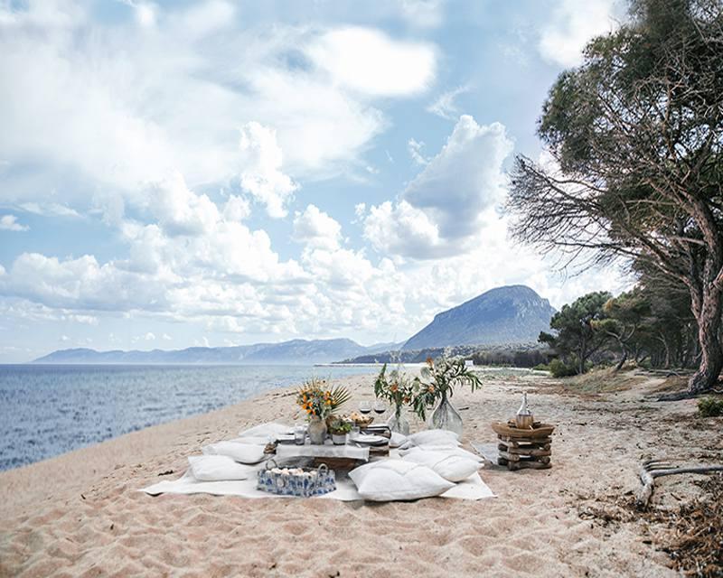 Организация романтических ужинов и пикников на самых красивых пляжах Италии