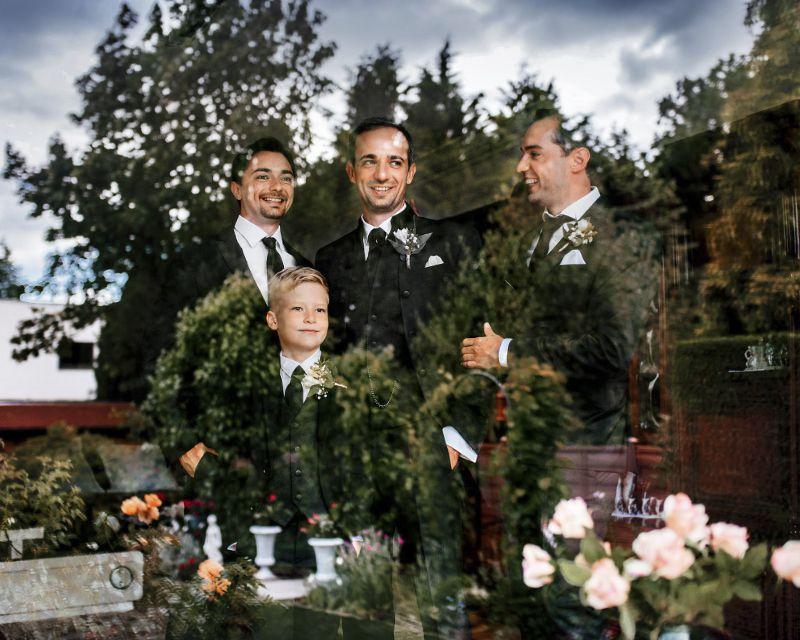 утро жениха свадьба на сардинии