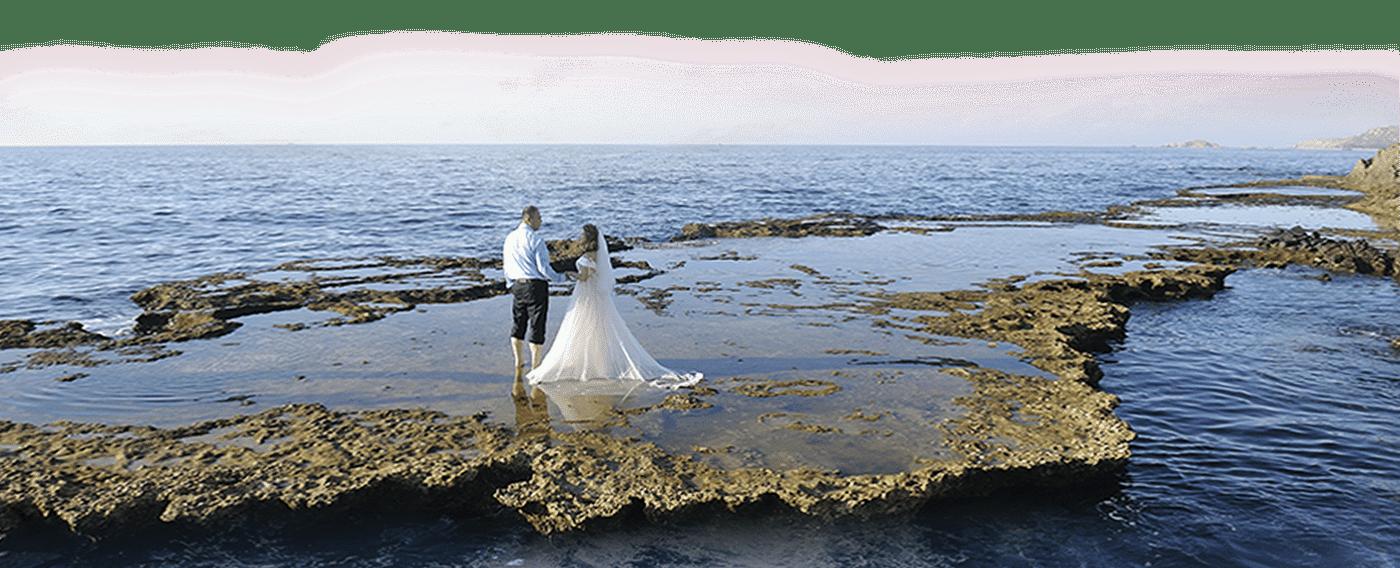 свадьба для двоих на острове