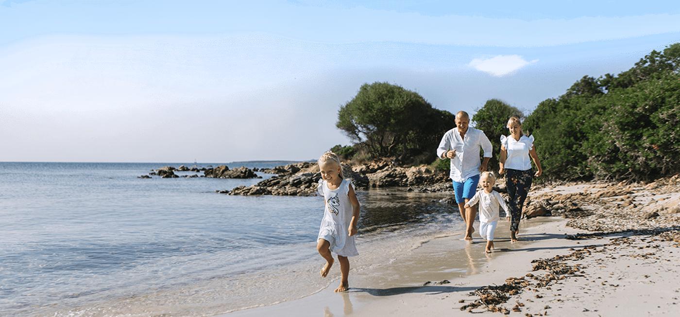 семейное путешествие на Сардинию