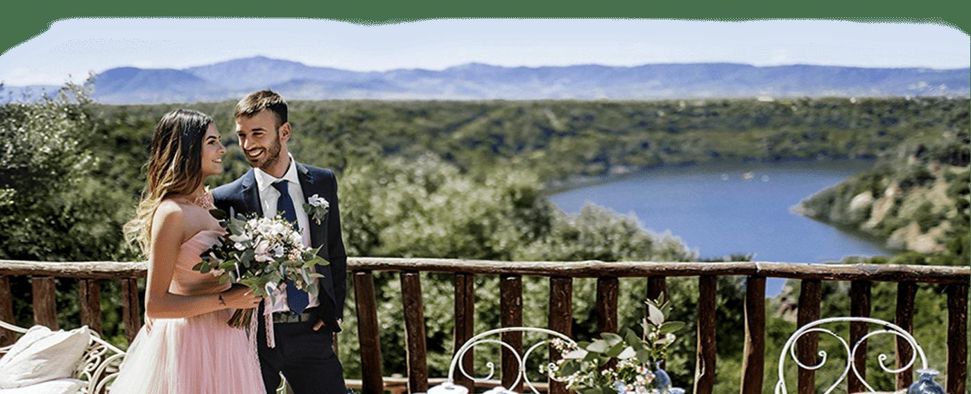 свадьба в горах в Италии, на Сардинии