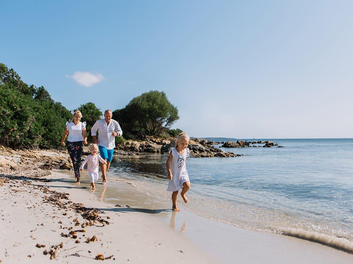 семейный фотограф на севере Сардинии