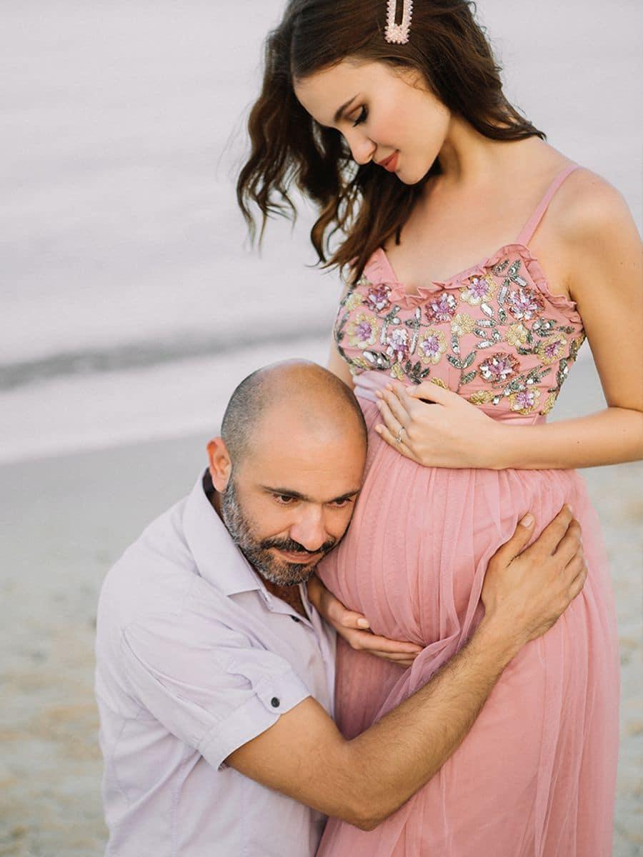 фотосессия для беременных на Сардинии