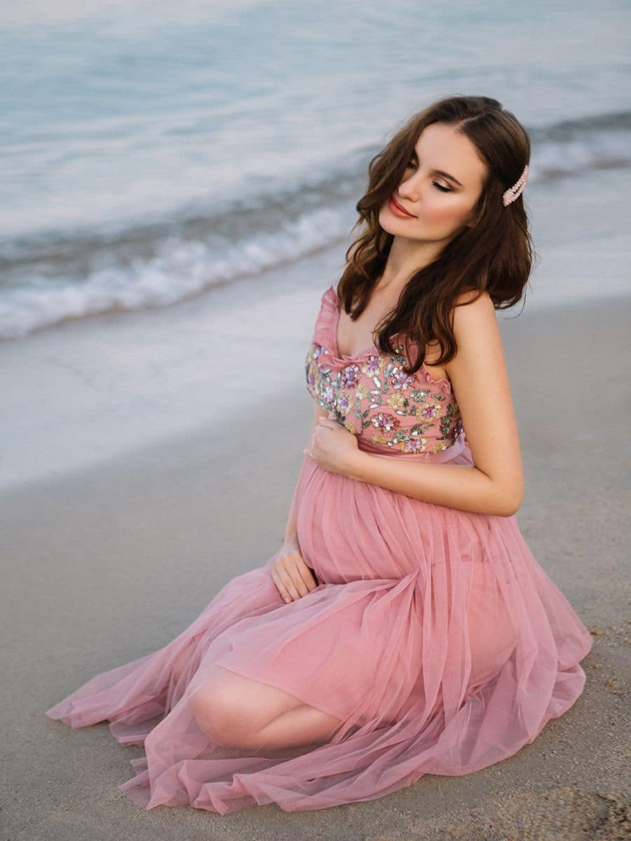 фотограф на Сардинии и красивая беременная девушка