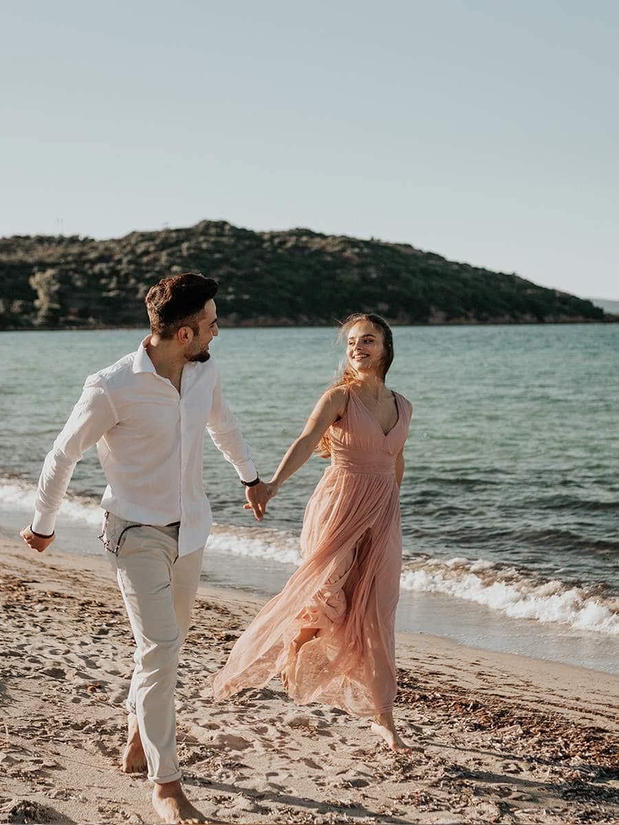 фотосессии на пляже в Италии