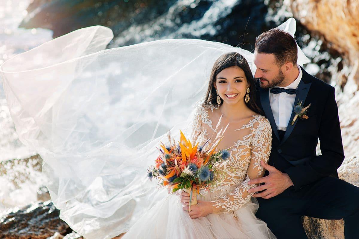 свадьба для двоих в Италии на Сардинии