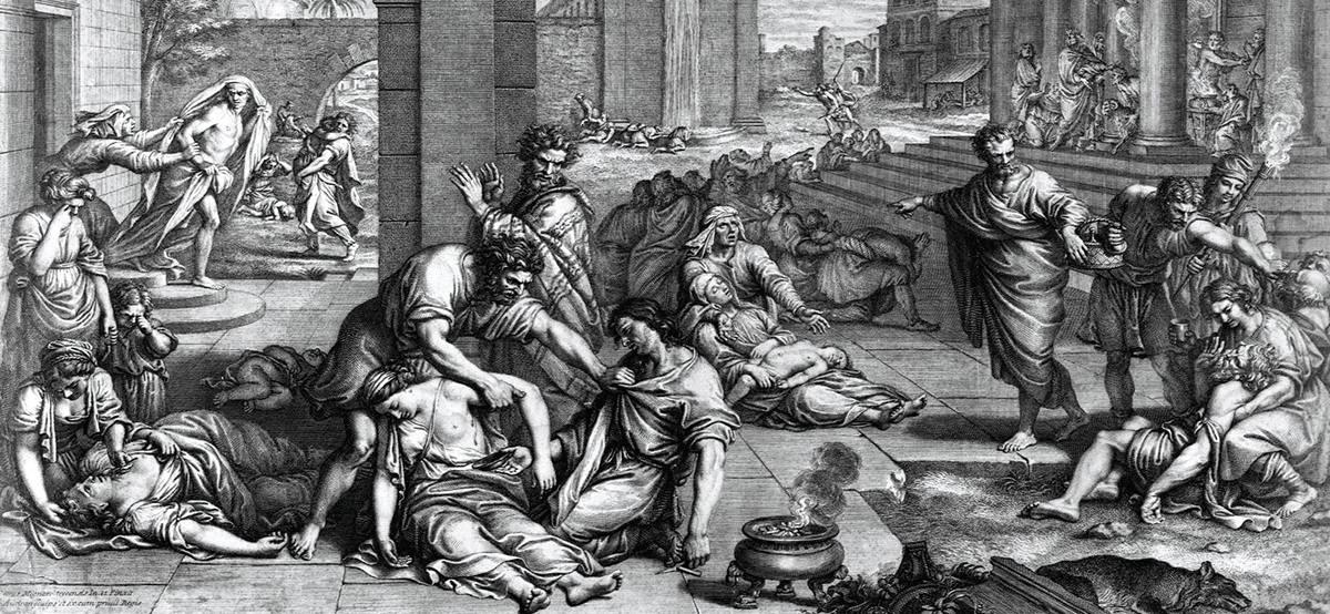 афинская чума: эпидемия в Европе