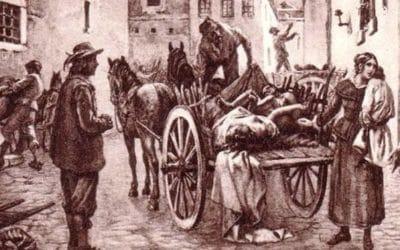 Эпидемии в средние века в Европе
