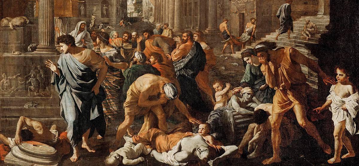 эпидемия чумы в Риме