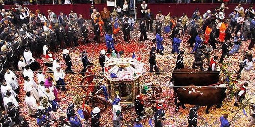 Сант Эфизио - самый красивый праздник на Сардинии, в Италии!