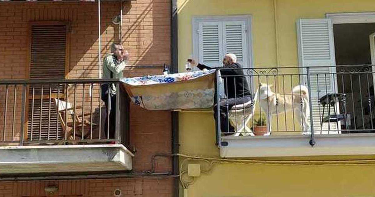 жизнь в красной зоне в Италии
