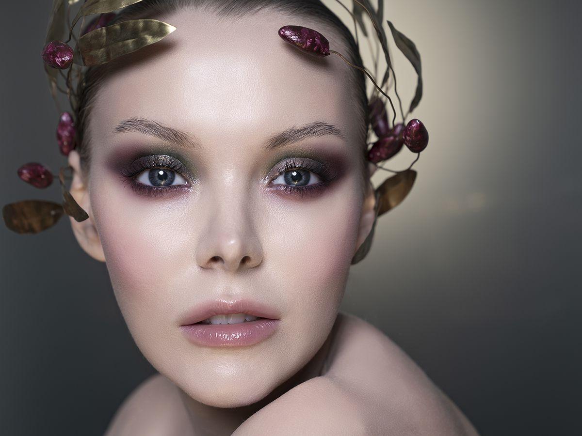 красивое лицо и макияж
