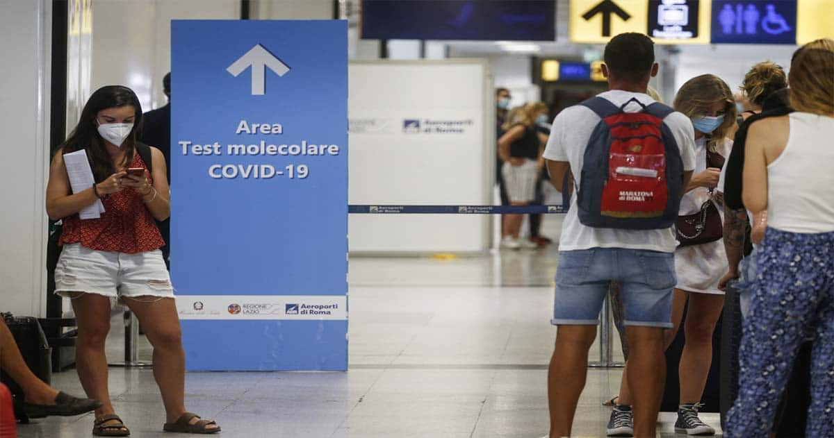 правила и форма для прибытия на Сардинию