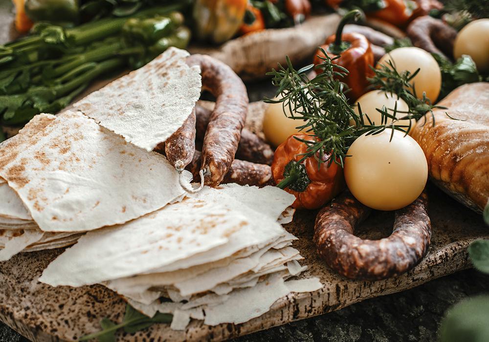 каразау - траниционный хлеб Сардинии