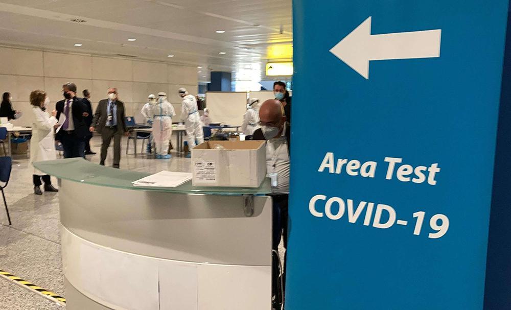 экспресс тест на коронавирус COVID-19 на Сардинии