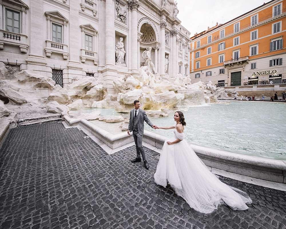 Фонтаны Рима и ваша свадебная фотосессия