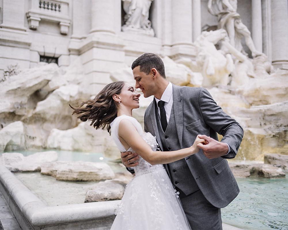 Танец молодых в Риме