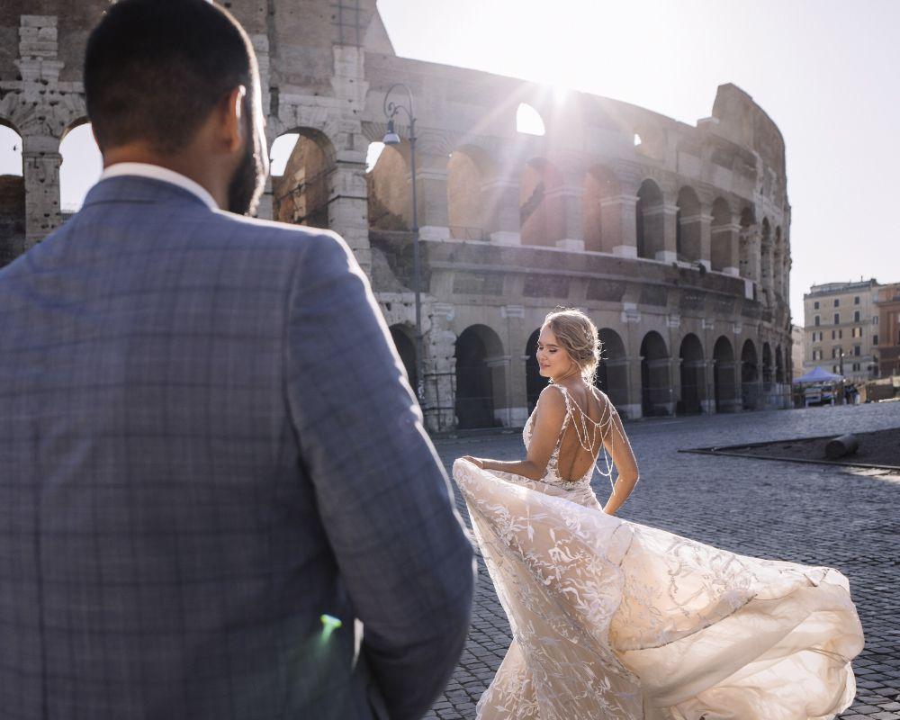 свадебный фотограф в Риме, Италия