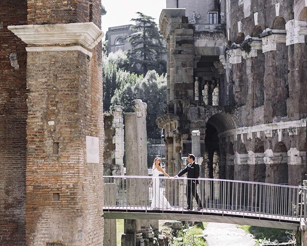 Профессиональный свадебный фотограф в Риме