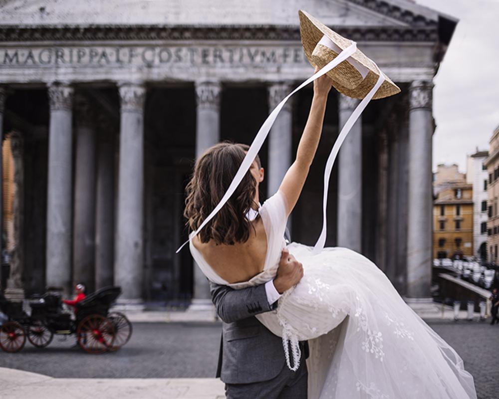 Романтическая свадьба в Риме для двоих