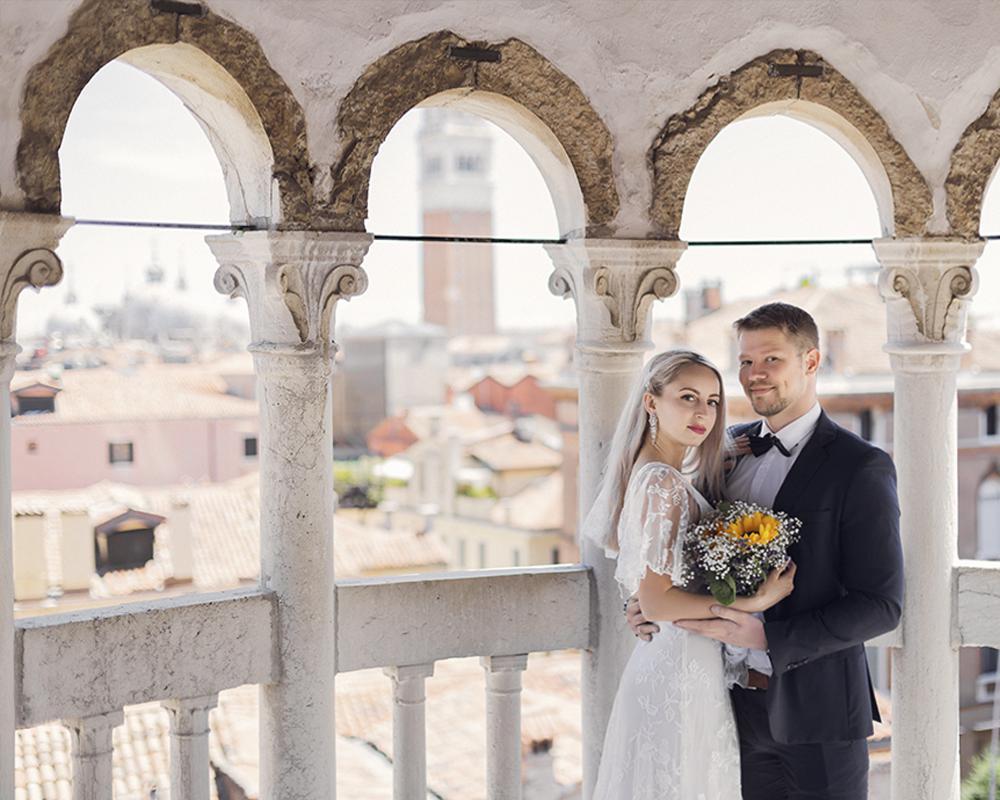 Ваша свадебная фотосессия в Венеции в