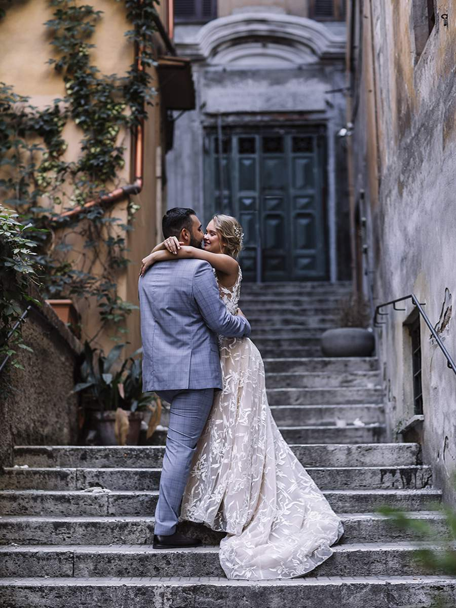 Романтическая свадьба в Милане