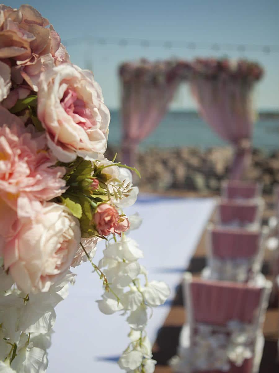 Свадебные декорации на Сардинии
