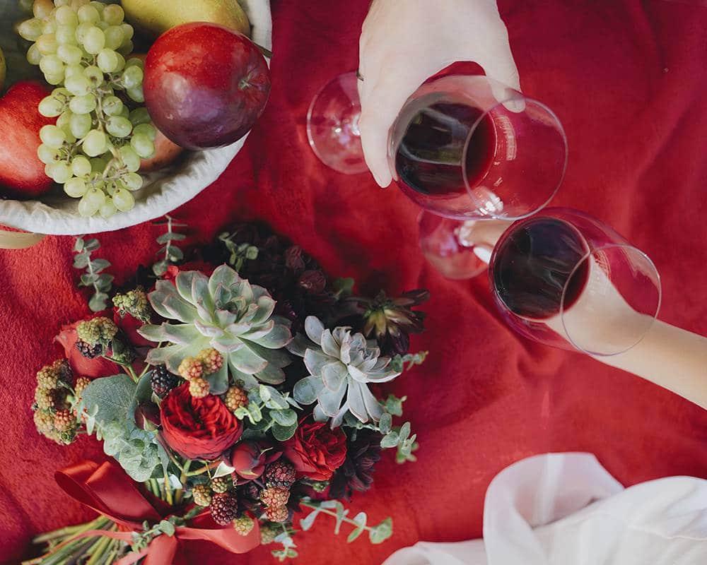 Пикник для жениха и невесты