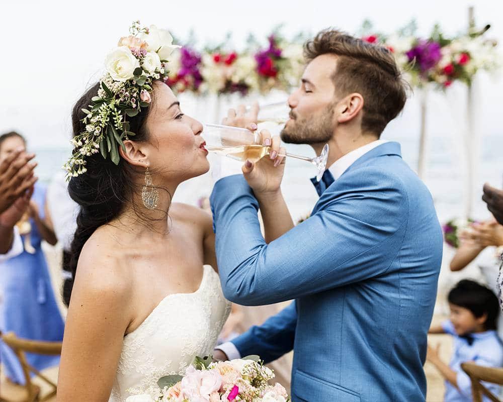 Свадебный тост жениха и невесты