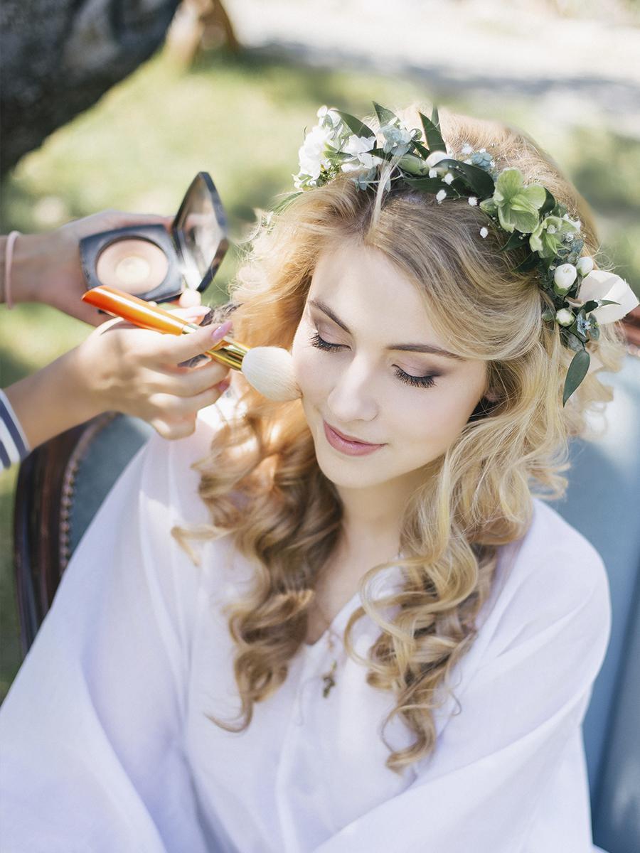 Макияж для невесты в день свадьбы