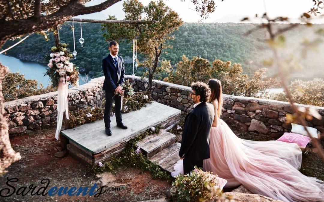 Свадьба и символическая свадебная церемония в Италии