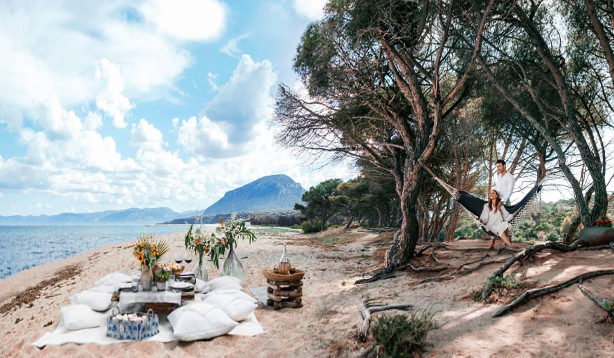 символическая свадьба и медовый месяц на острове Сардиния в Италии