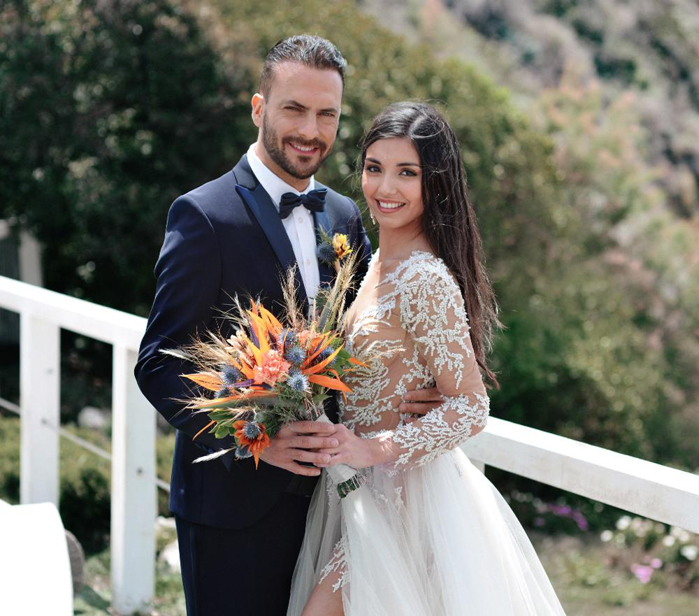 свадьба в Италии на берегу моря