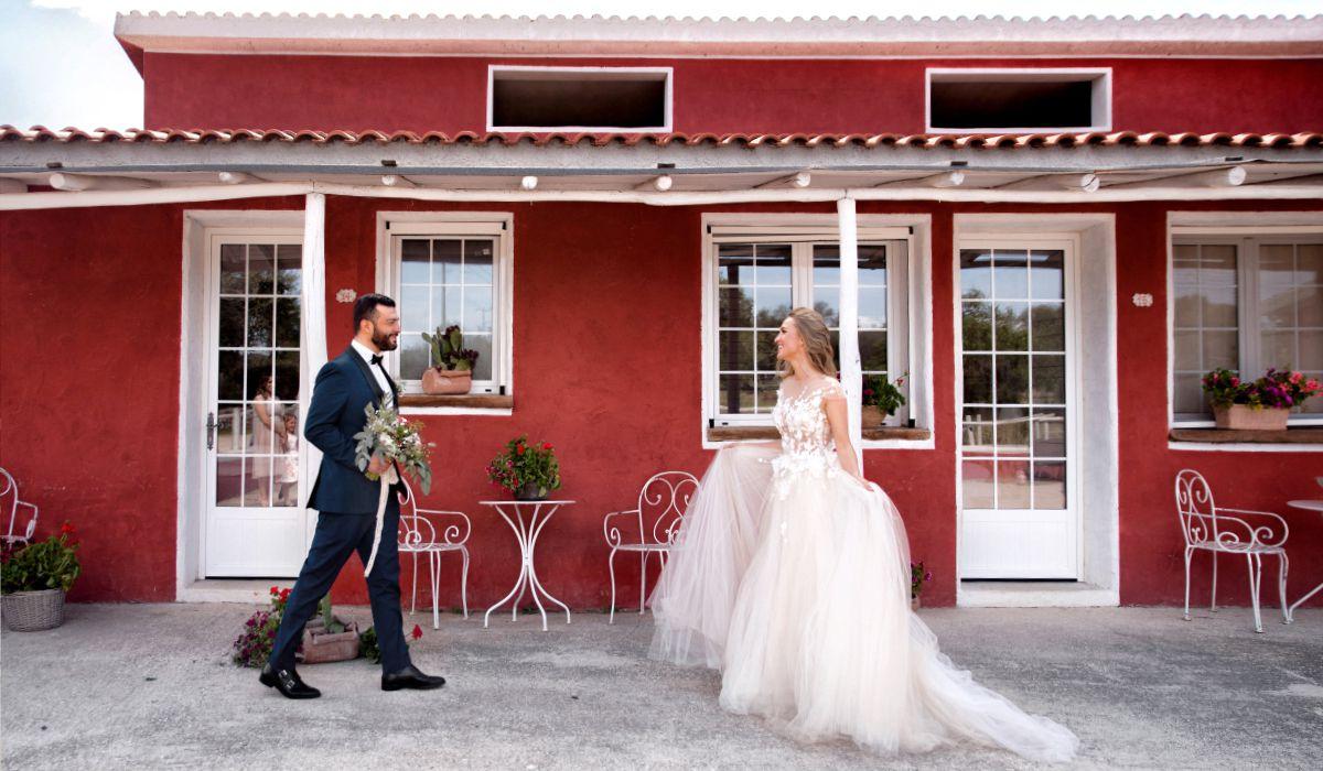 символическая свадьба и медовый месяц в Италии